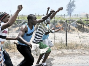 Western Cape Farm Workers Strike [image: 2oceansvibe.com]