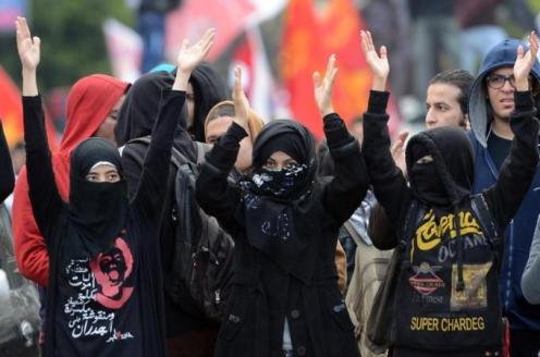 The Black Bloc in Egypt