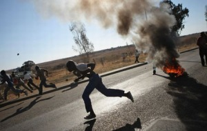 Khutsong Community fights Gangsters