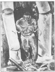 Samson painting, ICU Hall, Johannesburg, 1930s