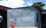 Anarchist graffiti at Motsoaledi squatter camp, Soweto, 2006 [1]