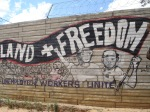 Anarchist graffiti at Motsoaledi squatter camp, Soweto, 2006 [2]