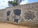 Anarchist graffiti at Motsoaledi squatter camp, Soweto, 2006 [3]