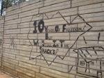 Anarchist graffiti at Motsoaledi squatter camp, Soweto, 2006 [4]