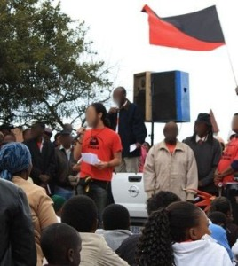 Anarchist speakers at Reclaim June 16 event, Soweto, 2009