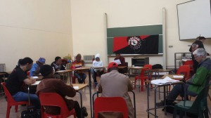 Prof Peter Linebaugh joins ZACF and TAAC comrades, 21 August 2015